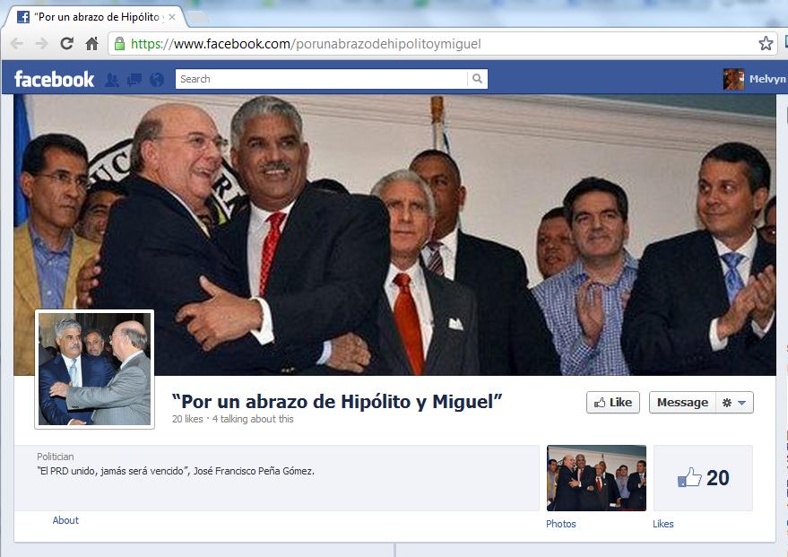 """""""Por un abrazo de Hipólito y Miguel"""""""