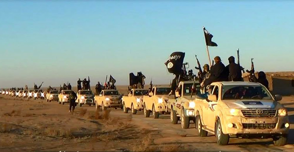 Toyotas para el ISIS cortesía de la CIA